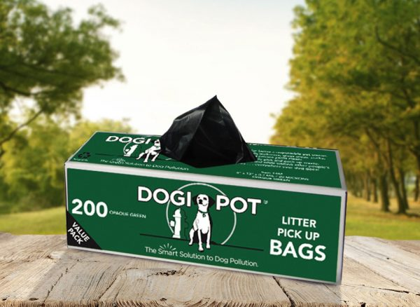 smart litter bags, dog poop bag