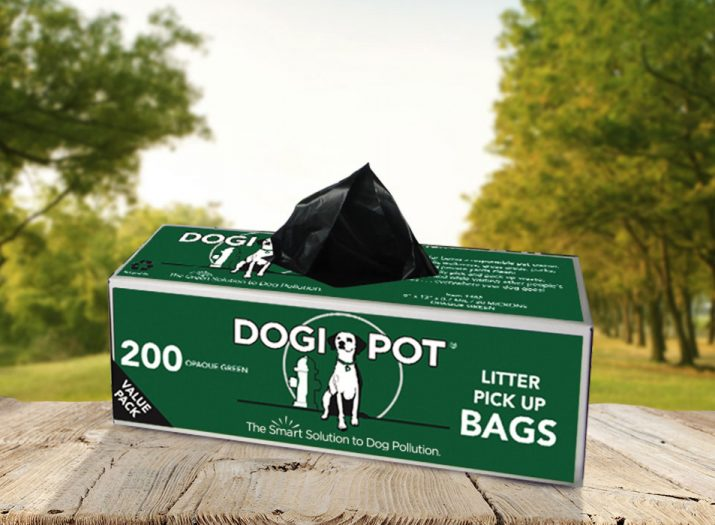 smart litter bags, dog poop bag