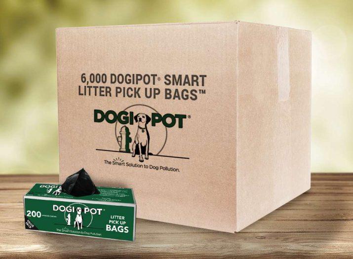 dog poop, pick up bag