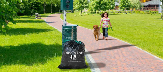 Large Dog Waste Trash Can Liner